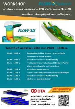 Workshop Flow-3D