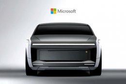 TRANSPORT: คอนเซป Microsoft Surface Car รถยนต์ไฟฟ้าขับเคลื่อนอัตโนมัติ