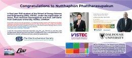 Congratulations to Nutthaphon Phattharasupakun