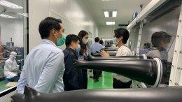 ศูนย์ความเป็นเลิศด้านเทคโนโลยีกักเก็บพลังงาน (CEST) ให้การต้อนรับ ผู้บริหารบริษัท PTT LNG และคณะ ในโอกาสเข้าเยี่ยมสถาบันวิทยสิริเมธี (VISTEC) ในวันที่ 10 มีนาคม พ.ศ 2564