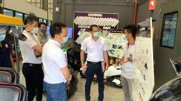 ศูนย์ความเป็นเลิศด้านเทคโนโลยีกักเก็บพลังงาน (CEST) ให้การต้อนรับ บริษัท Frasers Property (Thailand) Pub Co., Ltd. และ บริษัท NMB-Minebea Thai Ltd. และคณะ ในโอกาสเข้าเยี่ยม EECi และสถาบันวิทยสิริเมธี (VISTEC) ในวันที่ 23 มีนาคม พ.ศ 2564