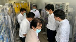 ศูนย์ความเป็นเลิศด้านเทคโนโลยีกักเก็บพลังงาน (CEST) ให้การต้อนรับ คณะเอกอัครราชทูตญี่ปุ่นประจำประเทศไทย และคณะ ในโอกาสเข้าเยี่ยม EECi และสถาบันวิทยสิริเมธี (VISTEC) ในวันที่ 29 มีนาคม พ.ศ 2564