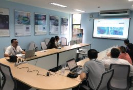 Dr.Yossiri Ariyakul from Schneider electric comes to discuss with CEST team (14 Aug 20)
