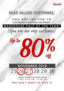 Warehouse Sales at Head Office