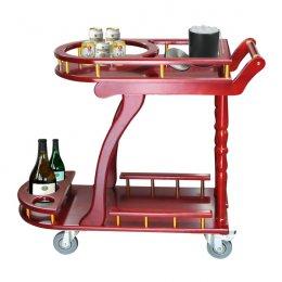 รถเข็นเครื่องดื่ม 4 ล้อ Drinking Service cart