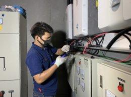 โครงการติดตั้ง Solar Cell G-PARK