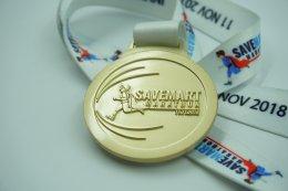 เหรียญรางวัลวิ่ง Save Mart