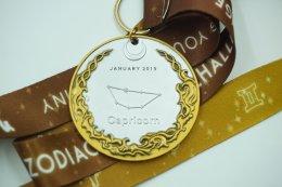 เหรียญรางวัลวิ่ง Zodiac Running