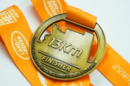 เหรียญรางวัลปั่นจักรยาน
