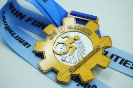 เหรียญรางวัลวิ่ง สร้างฝัน