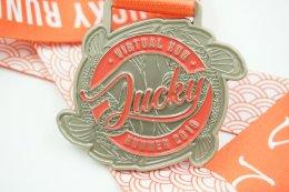 เหรียญรางวัลวิ่ง Virtual Run