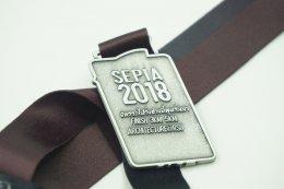เหรียญรางวัลวิ่ง Sepia