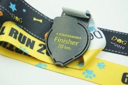 เหรียญรางวัลวิ่ง Dog virtual Run