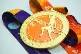 เหรียญรางวัล Chyarity Run