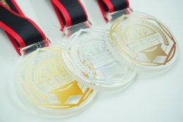 เหรียญรางวัลวิ่ง อะคริลิค