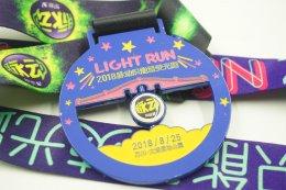 เหรียญรางวัลวิ่ง Light Run