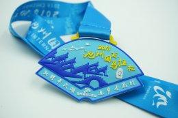 เหรียญรางวัลวิ่ง PVC