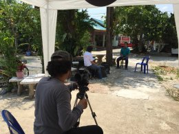 Filming on NBT channel
