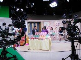 เดอลอง กาแฟสังข์หยด ถ่ายรายการแจ๋ว family ทางช่อง 3