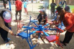 Volunteer activity Sharing happiness to children 2nd