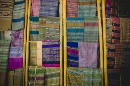 งานผ้าทอ