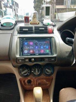 HONDA CITY ติดตั้ง AT-2869 เครื่องเสียงรถยนต์ 2 din Android แท้ ฟังชั่นครบ