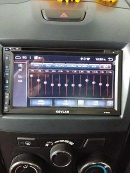 ISUZU DMAX ติดตั้ง K-6945 เครื่องเสียงรถยนต์ 2 din Android แท้ ฟังชั่นครบ