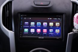 ISUZU DMAX ติดตั้งเครื่องเสียงรถยนต์ 2 din KEVLAR K-6945 Android แท้ ใหม่ Version 7.1.1