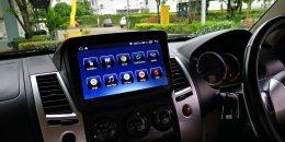 MISUBISHI PAJERO SPORT ติดตั้งเครื่องเสียงรถยนต์ 2 din Android Ram 2 Rom 64 ตรงรุ่น