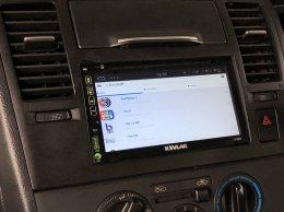 NISSAN ALMERA ติดตั้ง Kevlar K-2669 Android แท้ ลง App ได้ เชื่อมต่อ Wifi