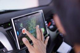 TOYOTA VIGO ติดตั้งเครื่องเสียงติดรถยนต์ 2 din หน้าจอ 10.1 นิ้ว Android V6