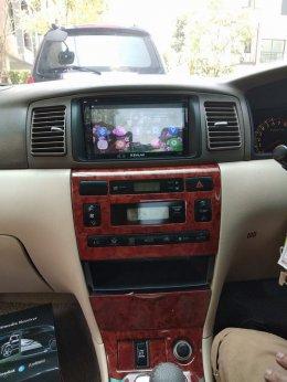 TOYOTA ALTIS ติดตั้ง K-2669 เครื่องเสียงรถยนต์ 2 din Android แท้ ฟังชั่นครบ