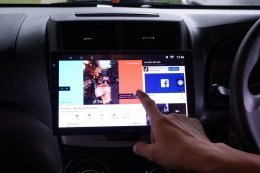 TOYOTA AVANZA ติดตั้งเครื่องเสียงรถยนต์ 2 din Android 10.1 นิ้ว จอใหญ่สะใจ