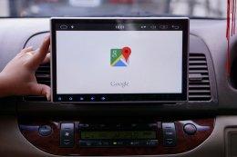 TOYOTA CAMRY ติดตั้งเครื่องเสียงรถยนต์ 2 din Android 10.1 แท้ ลงแอพได้