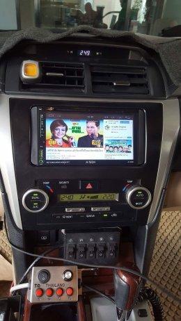 TOYOTA CAMRY ติดตั้ง AT-2869 เครื่องเสียงรถยนต์ 2 Din Real Android