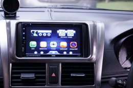 TOYOTA NEW YARIS ติดตั้งเครื่องเสียงรถยนต์ 2 din X-169 เชื่อมต่อ iOS & Android ครบ