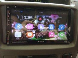 TOYOTA VIGO ติดตั้ง AT-2869 เครื่องเสียงรถยนต์ 2 din Android แท้ ฟังชั่นครบ