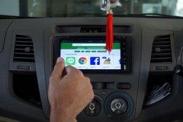 TOYOTA VIGO ติดตั้งเครื่องเสียงรถยนต์ 2 din Android แท้ 7 นิ้ว D6090A