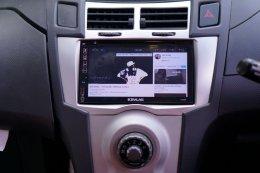 TOYOTA YARIS ติดตั้งเครื่องเสียงรถยนต์ 2 din KEVLAR K-2669 Android แท้