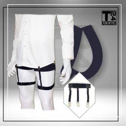 สายดึงเสื้อ Style D : คลิปหนีบ สายแยก
