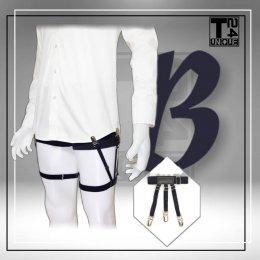 สายดึงเสื้อ Style B : คลิปหนีบ สายรวม