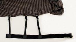 สายดึงเสื้อ Style C : กระดุมเกี่ยว สายแยก
