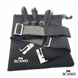 สายดึงเสื้อ รุ่น Scano (แบบคลิปหนีบ สายรวม)