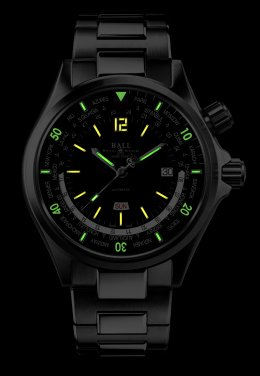The World's First Diver Worldtime Watch