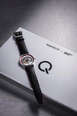 SWATCH  รุ่นล่าสุด ²Q  ผ่านภาพยนตร์ฟอร์มยักษ์เรื่องที่ทุกคนรอคอย 007 NO TIME TO DIE