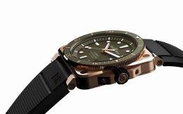 สุดยอดนาฬิกาดำน้ำสปอร์ตหรู เบล แอนด์ รอส BR 03-92 Diver Green Bronze