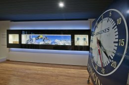 Retraces the fascinating history of Longines