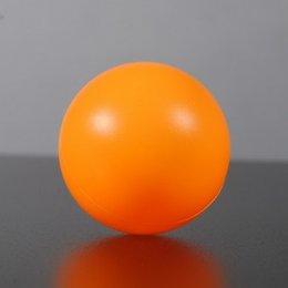 ลูกปิงปองขนาดมาตรฐาน 4mm สีส้ม