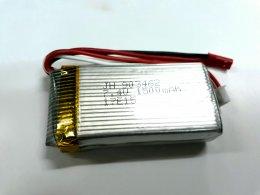 แบตเตอรี่ Li-Po 7.4V 1500 mAh