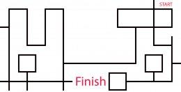 ไวนิลปูพื้นสนามแข่งขันหุ่นยนต์ระดับกลาง(สำหรับฝึกซ้อม)